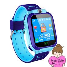 Dla dzieci smart watch wodoodporny IP67 inteligentny zegarek SOS dzieci w wieku 2g karty Sim Anti-lost smart watch dla dzieci 2G lokalizacji zszywacz zegar otrzymać telefon zwrotny od tanie tanio keating berus Android Wear Android OS Brak 128 MB Odpowiedź połączeń Wybierania połączeń Budzik Oświetlenie