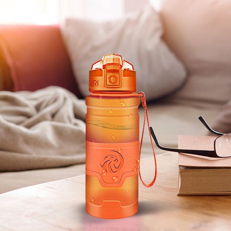 Best Sports Water Bottle TRITAN Copolyester Plastic Material Bottle Fitness Gym Yoga For Kids / Adult Water Bottles With Filter-in Water Bottles from Home & Garden on AliExpress