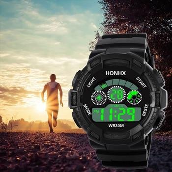 Kids Watches Men Digital Child Watch Outdoor Multifunction Camouflage Sports Electronic Wristwatch Kinder Horloge Relojes Hombre
