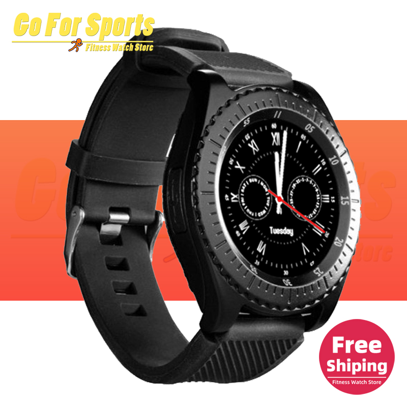 Z3 <font><b>Smart</b></font> <font><b>Watch</b></font> <font><b>Bluetooth</b></font> Touch Screen Leather Strap Wrist <font><b>Watch</b></font> with Camera SIM TF Card Slot SmartWatch For Android PK Y1 V8 <font><b>A1</b></font> image