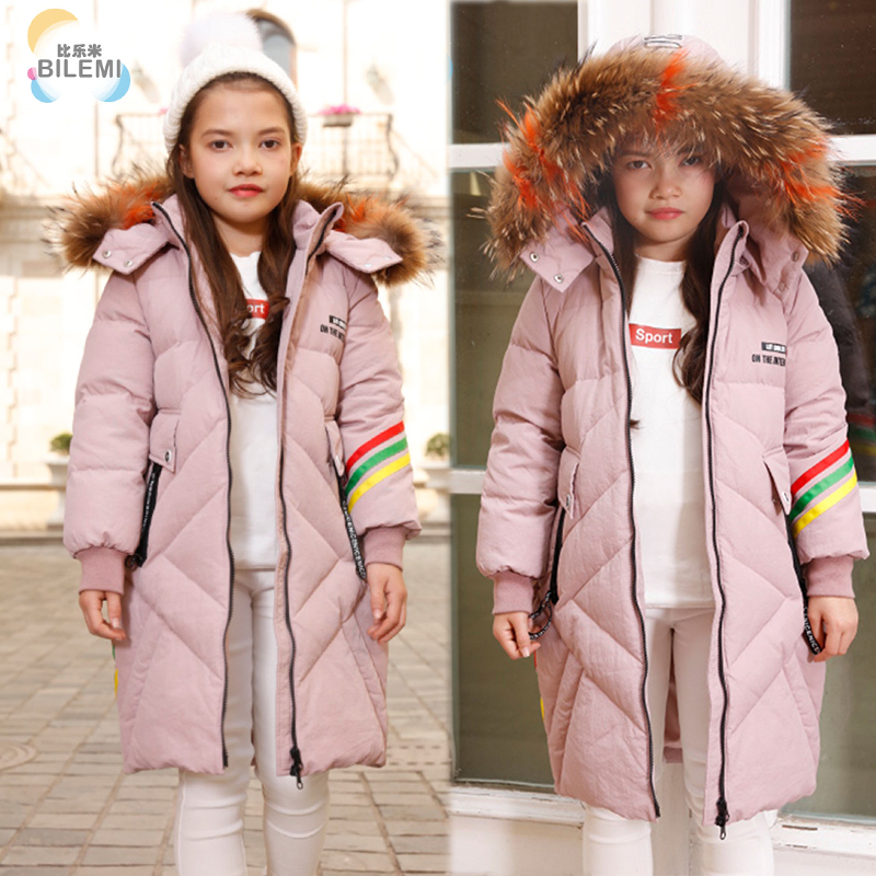 Bilemi spring girl puffer snow lightweight designer best hooded padded cheap quilted down outerwear winter children jacket image