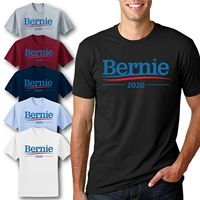 Bernie 2020 Logo Election Politics T Shirt Sanders Presidential Campaign Tee 100% cotton tee shirt, tops wholesale tee