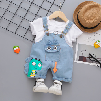 Baby Boy Overalls Set 1