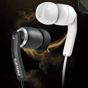 Image 3 - Original philips SHE9730 high fidelity earphone l shaped curved plug sports earphones for mobile phones and computers.