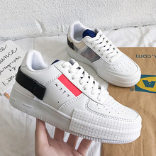 Luxury Women Vulcanized Shoes Spring Autumn Sport Breathable Sneakers Trend Trainers Unisex Casual White Shoes Zapatillas Hombre