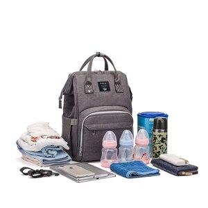Image 4 - Multifunktions Baby Tasche Erweitert Schulter Gurt Große Kapazität Mutterschaft Taschen Wasserdichte Reise Frauen Mode Windel Tasche Rucksack