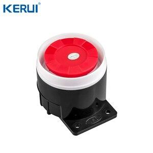 Image 5 - Kerui w20 2.4 inch tft tela colorida wifi gsm sistema de alarme de segurança em casa conjunto rfid cartão app controle detector de movimento assaltante alarme