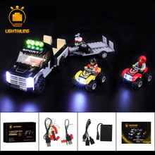 LIGHTAILING LED Light Kit For CITY Series ATV Race Team Lighting Set Compatible With 60148 (NOT Include The Model) цена 2017