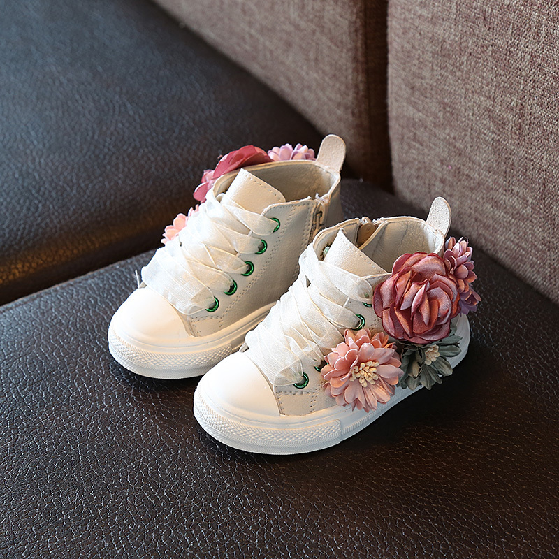 BOUSSAC Autumn New Fashion Children's Shoes Outdoor Super Perfect Design Cute Girls Princess Shoes Casual Sneakers 1-3 Years Old
