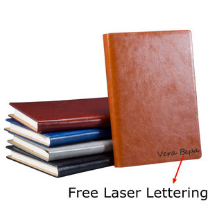 A4 A5 Business Leather Notebook Writing Notepad Stationery Travel Birthday Gift organizer Diary Outdoor Journal Agenda Planner()