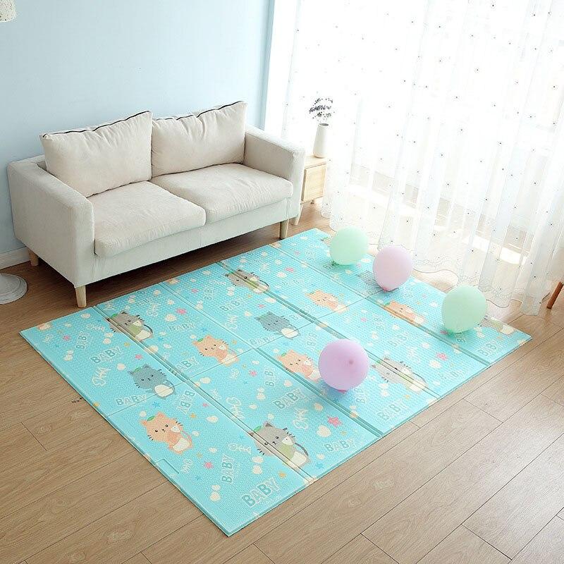XPE bébé tapis de jeu enfants tapis enfants couverture jouer coussin développement Puzzle tapis enfant en bas âge ramper tapis de jeu Lnfant couverture