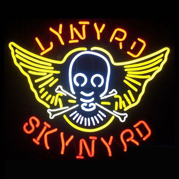 Lynyrd skynyrd Neon Sign For Room neon light Custom  Arcade Glass Neon Light Sign Beer Bar Glass Tubes Sexy Lamp  Leopard Neon