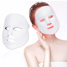 Rot Licht Therapie Photon Therapie LED Maske Schönheit Salon Infrarot Licht Gesichts Radiofrequenz Verjüngung Falten Führte Gesichts Maske light therapy kosmetiksalon lampenmaske kosmetik salon skin lifting radio(China)