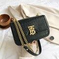 Сумки для женщин 2021 Новая Универсальная Ретро сумка-мессенджер модная маленькая квадратная сумка на цепочке кошельки и сумки роскошные сум...