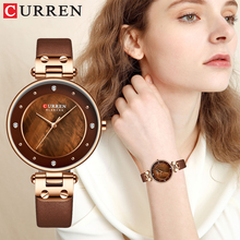 Relogiio Feminino CURREN Women Watches Luxury Brand Ladies Creative Simple Quartz Watch Dress Steel Mesh Watches New Clock