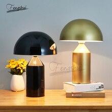 Modern LED Table Lamp Creative Mushroom Shape Design Bedside Lamp Living Room Bedroom Hotel Desk Lamps Desktop Decorative Lights