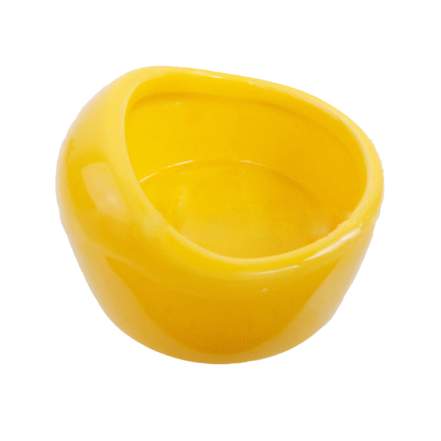 Hamster Ceramics Feeding Bowl Food Dish Mini Animal Porcelain Feeder Drinking Cage for Small Pets Rabbit Guinea Pig Mouse Tools 3