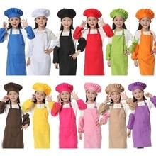Фартук для приготовления пищи, фартук, детский рукав, шапка, карман для детского сада, кухни, для выпечки, живопись для приготовления пищи
