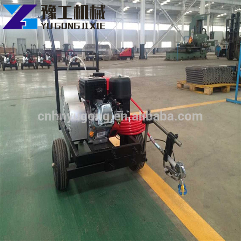 Cold Plastic Spray Linelazer Road Line Marking Paint Machine For Sale