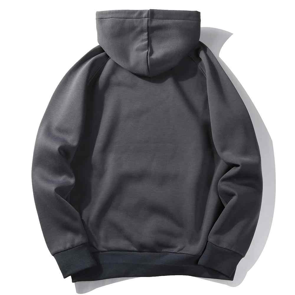 2020 jednolity pulower bluzy męskie polarowe nowa codzienna bluza z kapturem hiphopowy sweter bluzy deskorolka mężczyźni/bluzka kobieca bluza z kapturem
