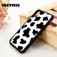 Iretmis 5 5S SE 6 6S Soft TPU Silicone Rubber phone case cover for iPhone 7 8 plus X Xs 11 Pro Max XR Moo Moo