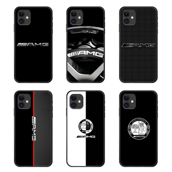 Mercedes Benz AMG Car Luxury Phone Case Cover Hull For iphone 5 5s se 2 6 6s 7 8 plus X XS XR 11 PRO MAX black prime silicone image