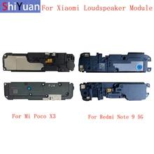 LoudSpeaker Buzzer Ringer Loudspeaker Flex Cable For Xiaomi Poco X3 X3Pro M3 C3 Redmi Note 9 5G Ringer Flex Replacement Parts