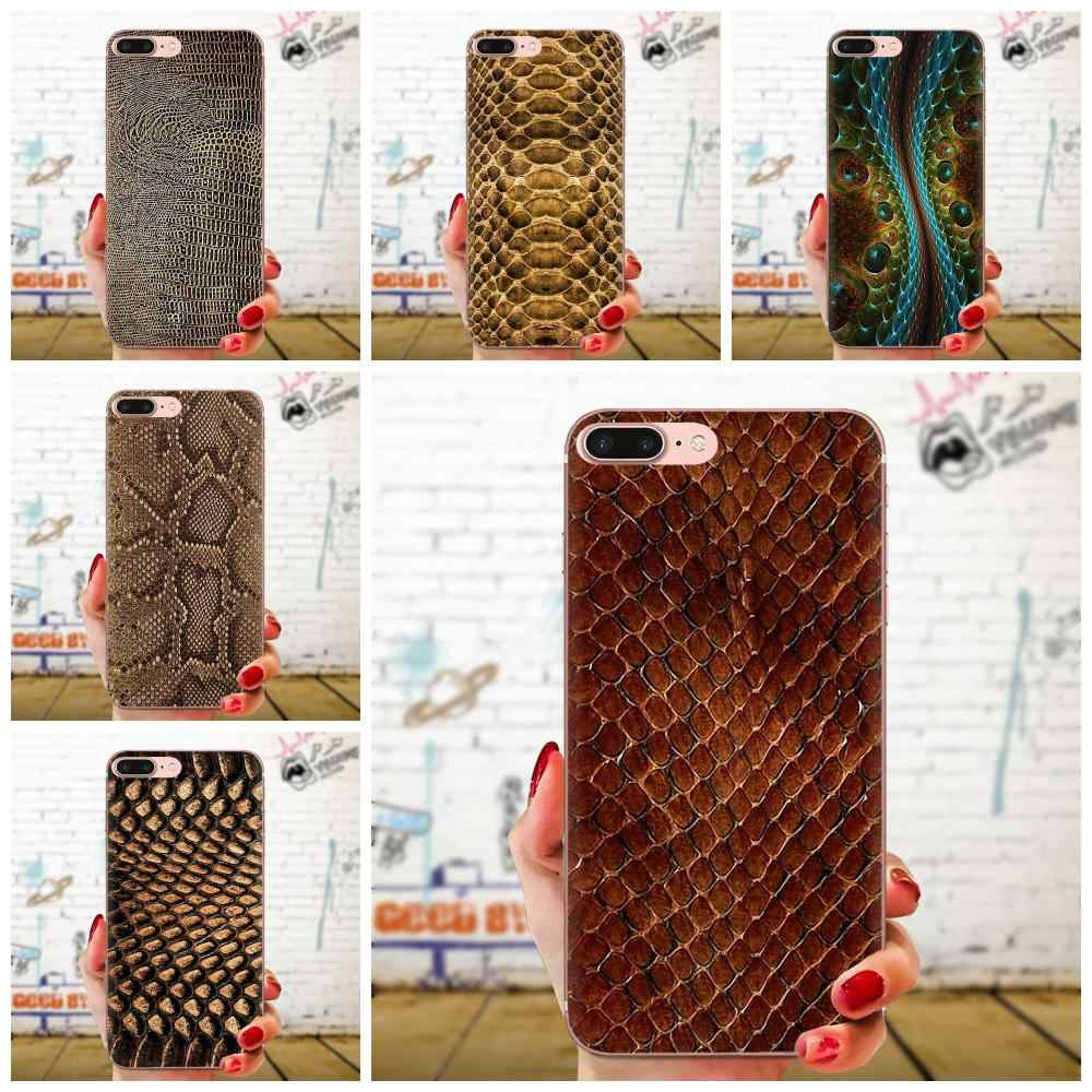 Snake Skin Texture Silicone Skin Case For LG G2 G3 G4 G5 G6 G7 K4 K7 K8 K10 K12 K40 Mini Plus Stylus ThinQ 2016 2017 2018