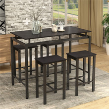 Nordic Style Dining Table Set Indoor Home Furniture For Restaurant Ship From US Warehouse Modern Furniture Set For Home