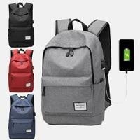 Usb Laptop Backpack Business Large Capacity Backpack Men Computer School Bag Travel Bagpack Student Bag 2019