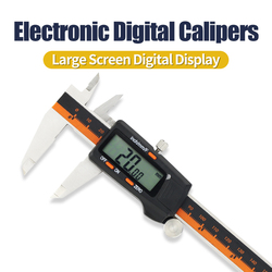 Digital Calipers 150mm micrometer measuring tool, Electronic digital caliper with Stainless Steel Body, Auto Off Featured verni