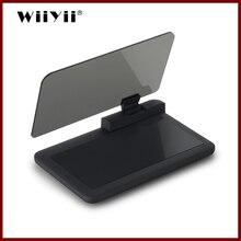 GEYIREN pantalla Universal HUD H6 de 6 pulgadas para coche, proyector de navegación por teléfono, soporte para teléfono inteligente, hud gps para cualquier coche