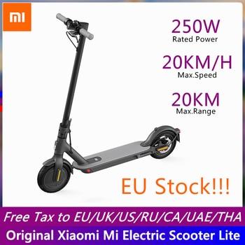 Xiaomi-patinete eléctrico Mi Lite con Motor inteligente de dos ruedas, 250W, M365 Lite con aplicación