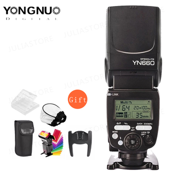 YONGNUO YN660 bezprzewodowa lampa błyskowa speedlite GN66 2 4G radio bezprzewodowe Master Slave do Canon Nikon Pentax Olympus YONGNUO YN 660 tanie i dobre opinie