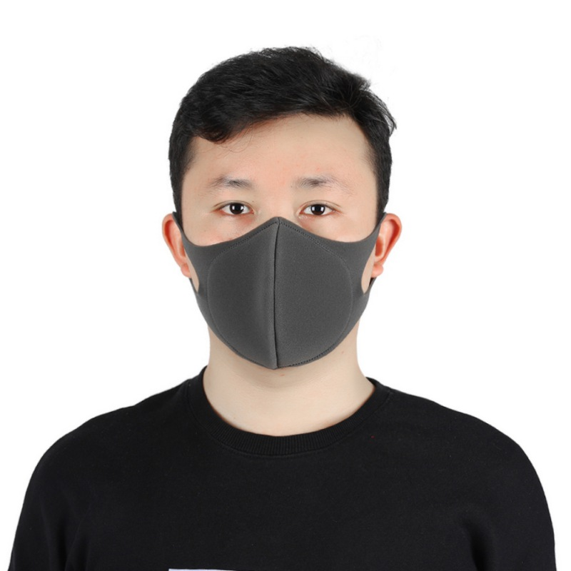 Integrated Reusable Coronavirus Mouth Mask Dust-proof And Breathable Safety Sponge Face Mask Fast Drop Shipping Hot 1