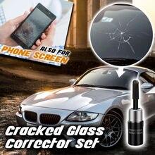 Motoryzacja czyszczenie samochodu szkło Nano naprawa płynu okno samochodu szkło Crack Chip Repair Tool полироль для авт