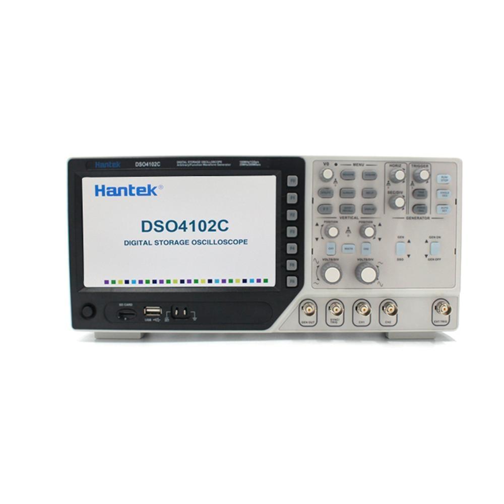 Hantek DSO4102C Digital Multimeter Oscilloscope USB 100MHz Bandwidth 2 Channels Handheld Osciloscopio Portatil Logic Analyzer