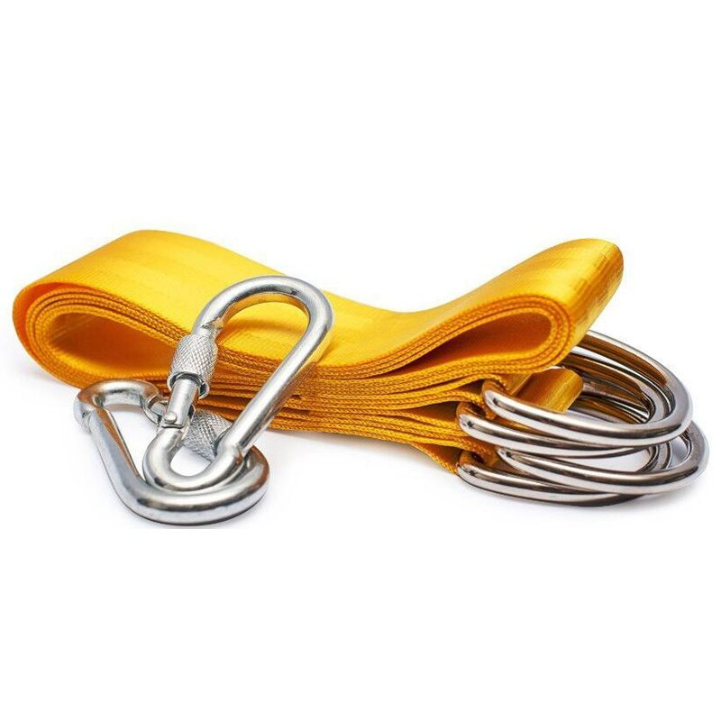 Swing Attachment, Suspension Set Hammock Hammock Chair Swing Hanging Belt Kit For Attachment Seat Hinged Seat With 2 Carabiners