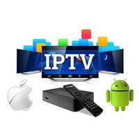 3 6 9 12 meses 4K HD Caixa de Canais de tv Android Espanha França itália Europa esporte m3u REINO UNIDO EUA CA 1 ano Assinatura IPTV set-top box