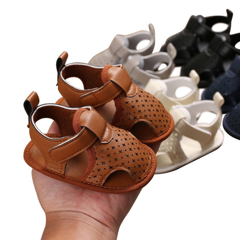 Infant Kid Baby Boys Girl Flower Shoes Hollow Out Fashion Casual Solid Color Toddler Kids Crib Shoes First Prewalker 0-18M
