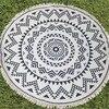 Round Microfiber Tessellate Mandala Beach Towel - Beach Blanket 26