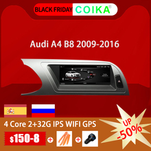 COIKA Radio con GPS para coche, Radio con sistema Android 8,8, 10,0 pulgadas, navegador Navi, Carplay, WIFI, Google BT, música, SWC
