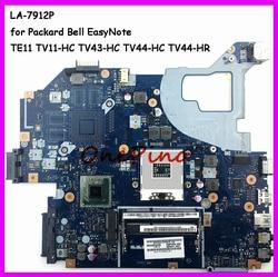 NBC1F11001 LA-7912P nadające się do Packard Bell EasyNote TE11 TV11-HC TV43-HC TV44-HC TV44-HR laptopa płyty głównej płyta główna w Q5WTC L51 testowane