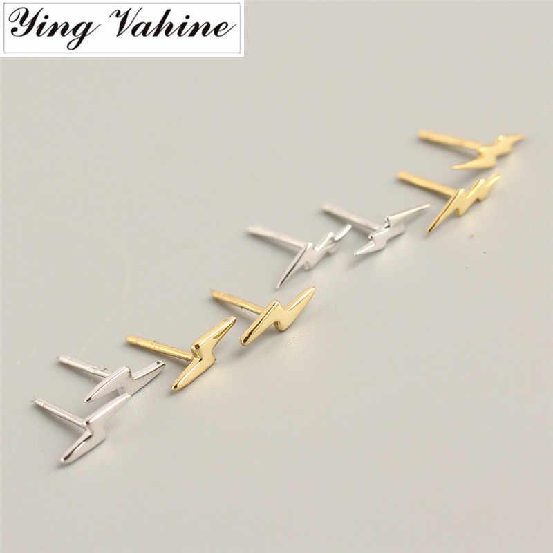 Ying Vahine 100% 925 Mini boucles d'oreilles en argent Sterling pour femmes
