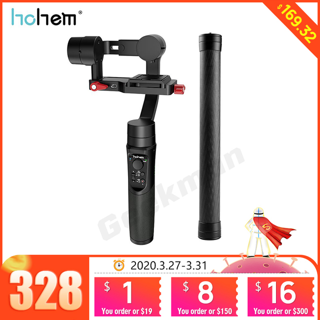 Hohem iSteady Multi 3 Axis Handheld Gimbal Stabilizer for Micro Camera Action Camera Smartphone PK Zhiyun Crane M2 Feiyu G6 Plus