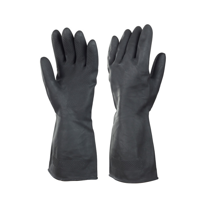 Rubber-Plastic Protective Gloves Cleaning Household Vehicle Cleaning Wash Dishes Latex Gloves Supply Wholesale Wearable Industri
