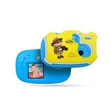 Цифровая HD детская 1,7 дюймовая камера, Детская цифровая камера, мини DIY камера, мультяшная камера