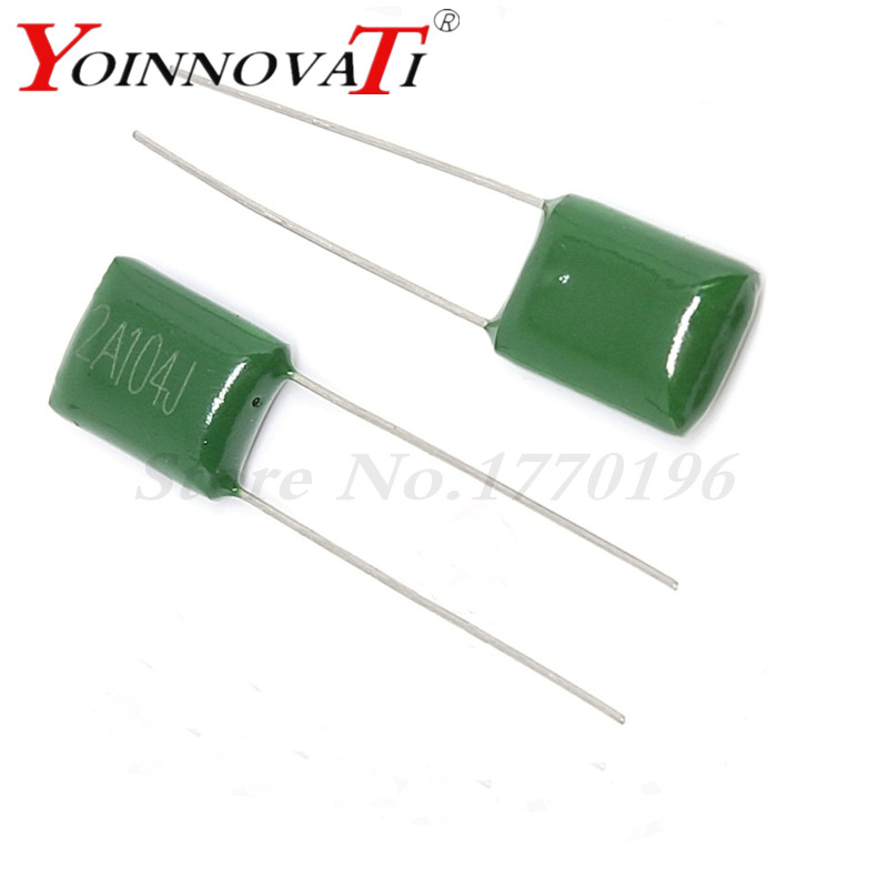 100NF 0.1UF 2A104 Polyester Film Capacitors 100V