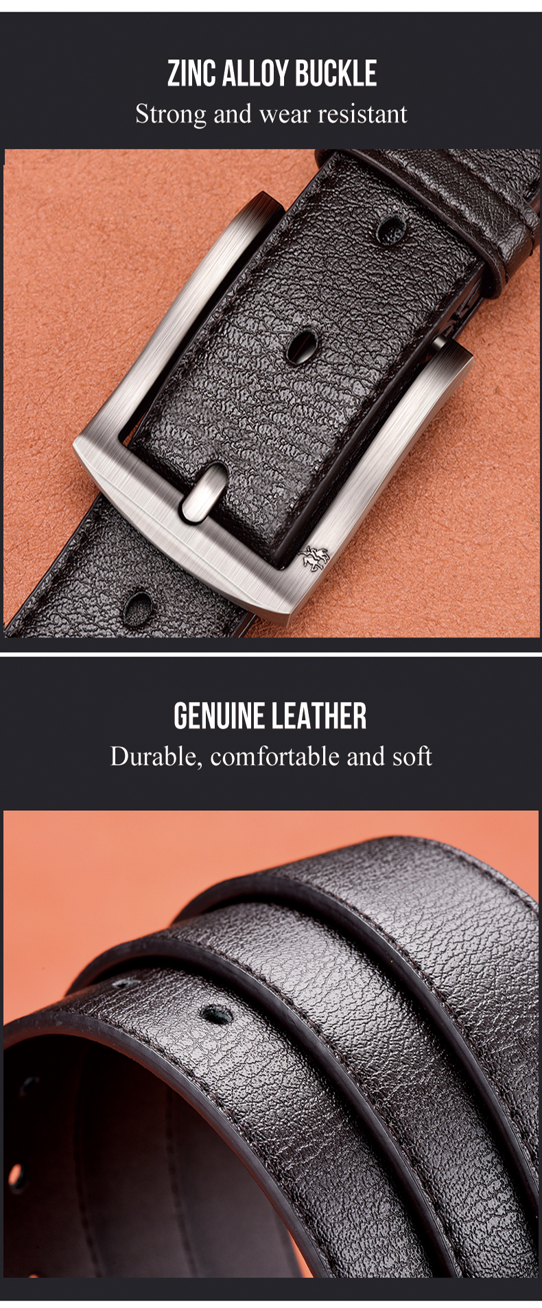 H3fa21584cf814b928710972dda869b06U - NO.ONEPAUL cow genuine leather luxury strap male belts for men new fashion classice vintage pin buckle men belt High Quality