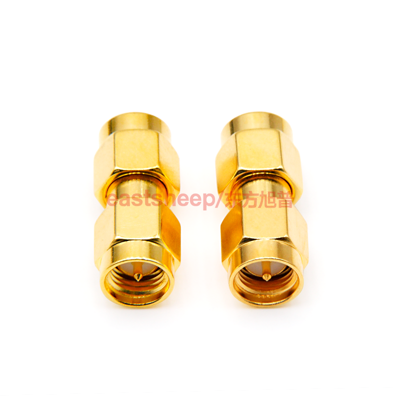 eastsheep SMA-JJ Adapters Male to Male Plug RF Coaxial Adapter Connector plug to plug sma connectors 3